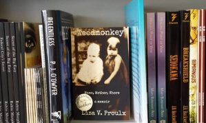 Weedmonkey at Turn The Page Bookstore in Boonsboro, Maryland
