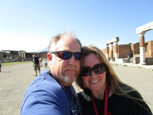 Me and Steve in Pompeii, Italy. 2015