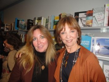 Me with famed romance novelist Nora Roberts. I have had two book signings with Nora and she sells my books in her bookstore in Boonsboro, Maryland.