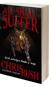 All Shall Suffer 3D book cover for Chris