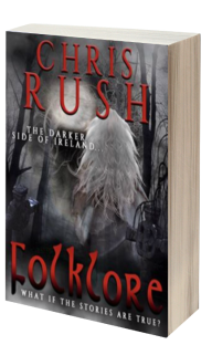 Folklore 3D book cover for Chris