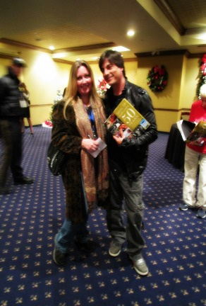 Meeting the cast of Days of Our Lives in the VIP Media Room, Pigeon Forge, TN 2015