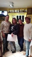 "My ""family"" in Gubbio, Italy"