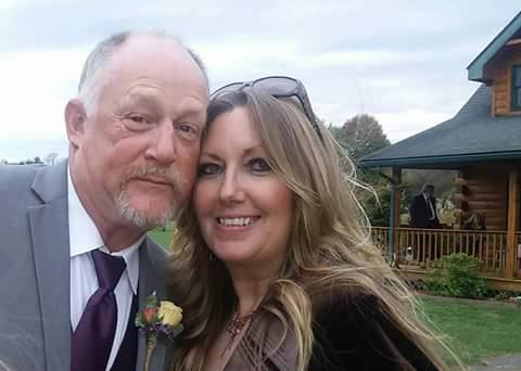 STEVE AND LISA AT NICKY'S WEDDING OCTOBER 28, 2017