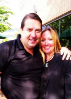 Close friend, Steve DiSchiavi of Travel Channel's The Dead Files.
